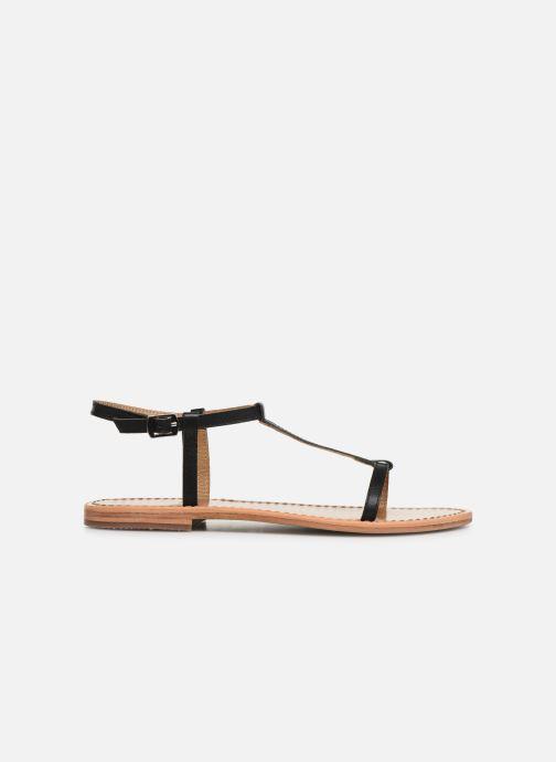 Sandales et nu-pieds White Sun Lagorn Noir vue derrière