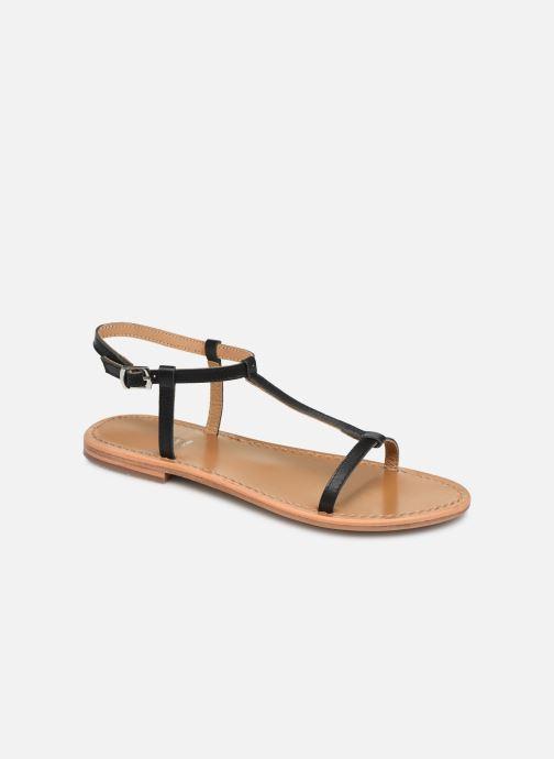 Sandales et nu-pieds White Sun Lagorn Noir vue détail/paire