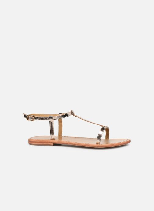 Sandals White Sun Lagorn Bronze and Gold back view