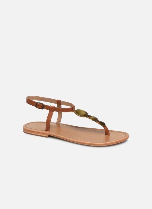 Sandales et nu-pieds White Sun Cymatium Marron vue détail/paire