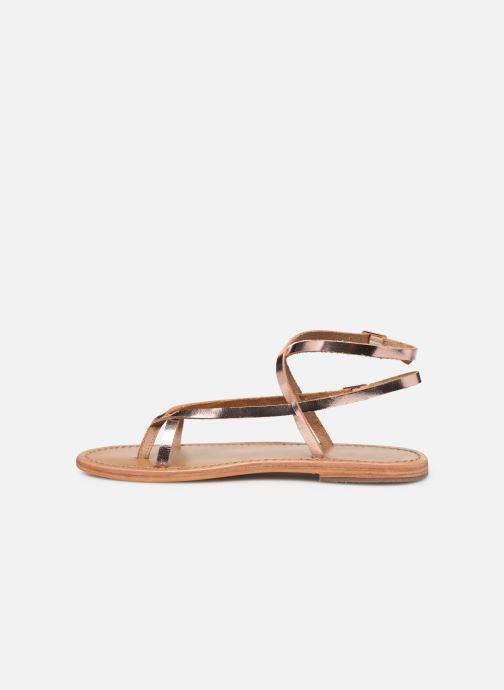 Sandales et nu-pieds White Sun Ceara Rose vue face