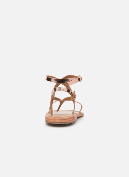 Sandales et nu-pieds White Sun Ceara Rose vue droite