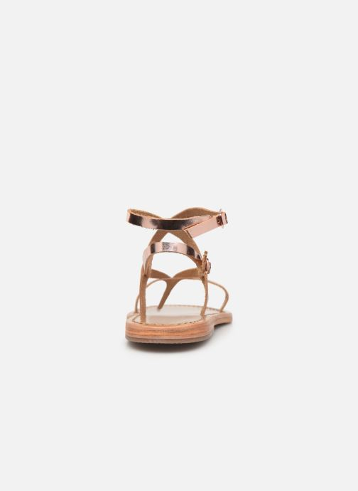 Sandals White Sun Ceara Pink view from the right