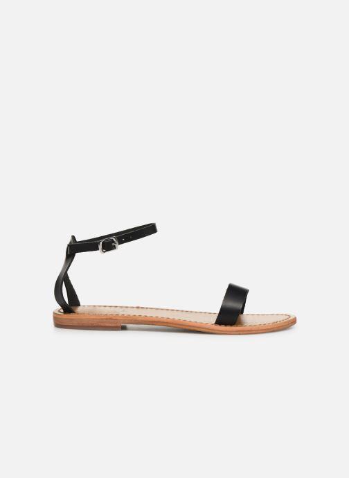 Sandali e scarpe aperte White Sun Cavaliers Nero immagine posteriore