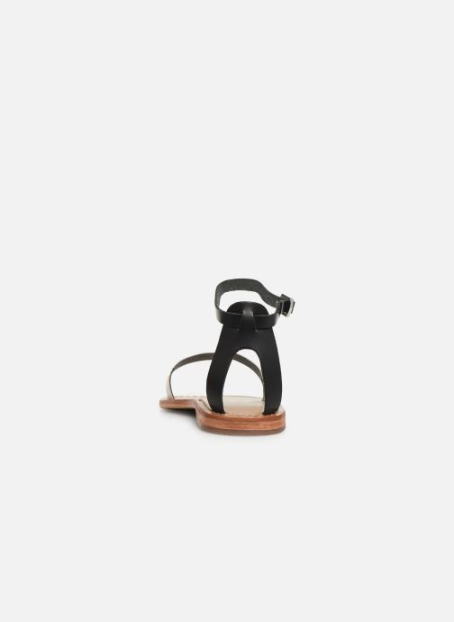 Sandals White Sun Cavaliers Black view from the right
