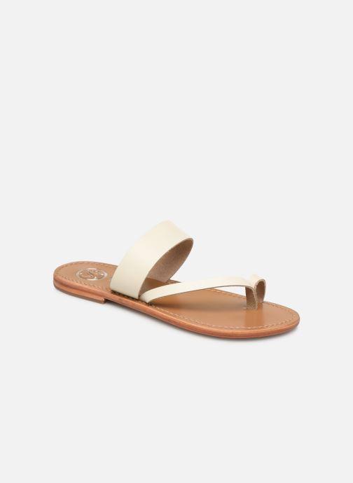 Clogs & Pantoletten White Sun Brehat weiß detaillierte ansicht/modell