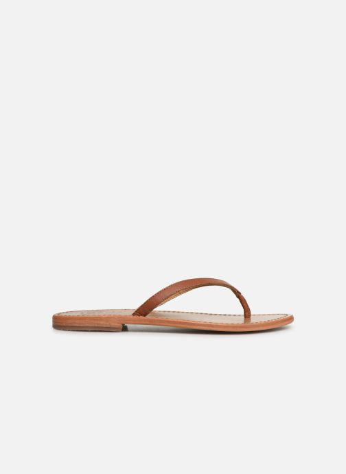 Flip flops White Sun Boavista Brown back view