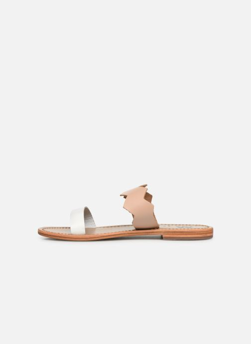 Mules & clogs White Sun Belem Beige front view