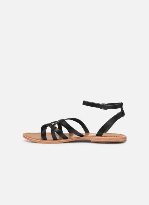 Sandales et nu-pieds White Sun Babylonia Noir vue face