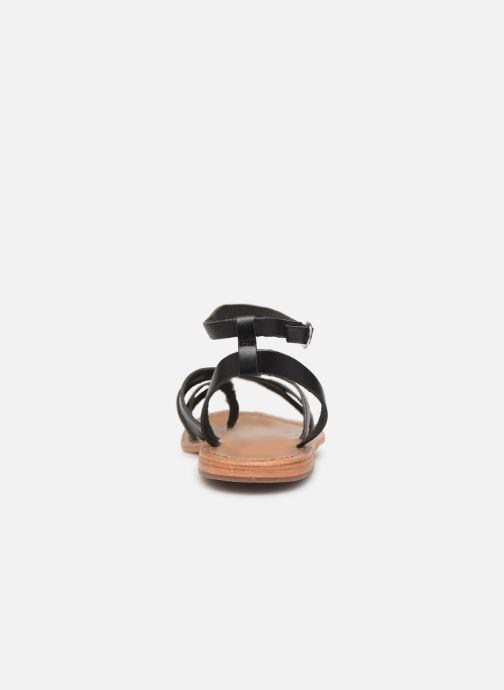 Sandales et nu-pieds White Sun Babylonia Noir vue droite