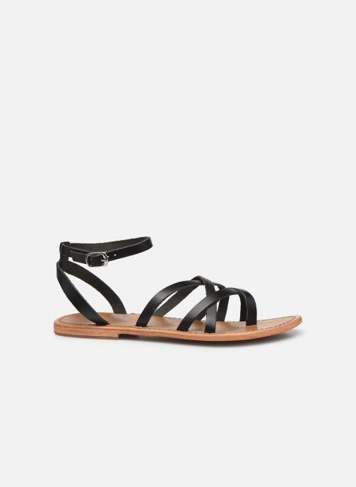 Sandales et nu-pieds White Sun Babylonia Noir vue derrière
