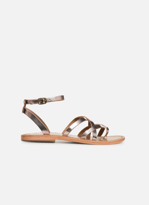 Sandals White Sun Babylonia Pink back view