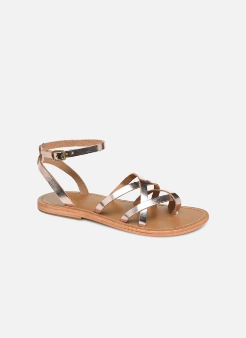 Sandals White Sun Babylonia Pink detailed view/ Pair view