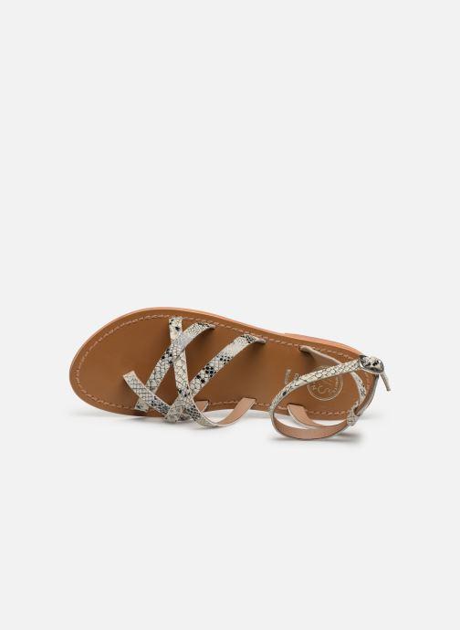 Sandales et nu-pieds White Sun Babylonia Gris vue gauche
