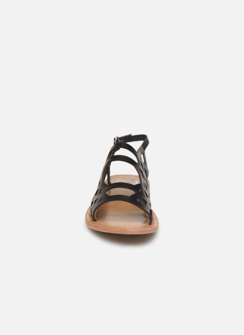 Sandals White Sun Aracati Black model view
