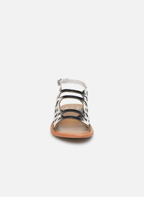 Sandales et nu-pieds White Sun Aracati Argent vue portées chaussures