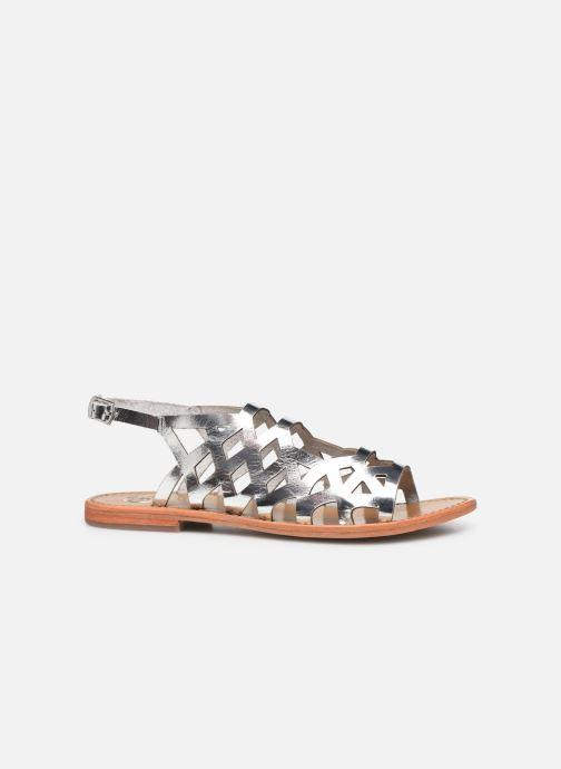 Sandales et nu-pieds White Sun Aracati Argent vue derrière