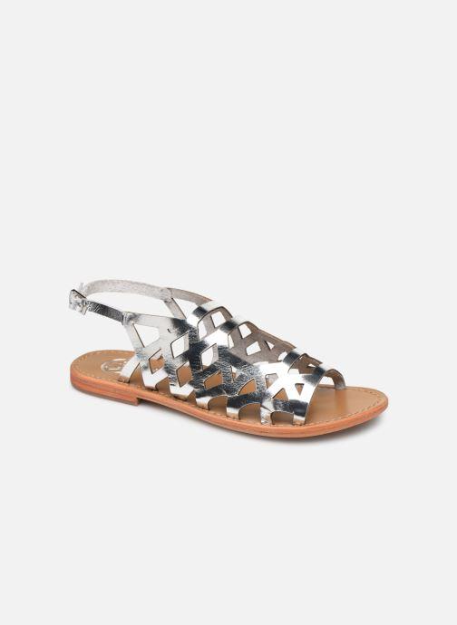 Sandales et nu-pieds White Sun Aracati Argent vue détail/paire