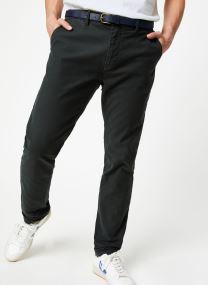 STUART - Classic garment-dyed twill chino
