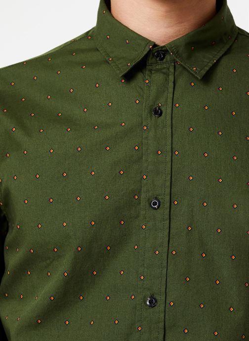 Vêtements Scotch & Soda REGULAR FIT - Classic all-over printed shirt Vert vue face