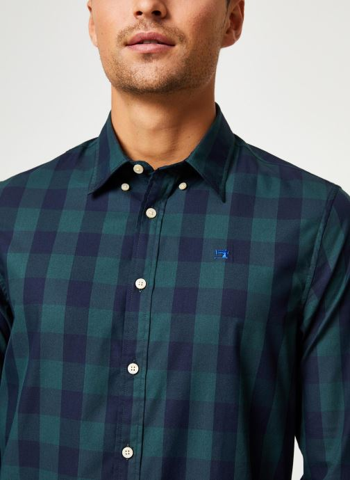 Vêtements Scotch & Soda REGULAR FIT - Classic BB check shirt Bleu vue face