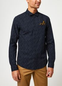 REGULAR FIT- Classic all-over printed pochet shirt