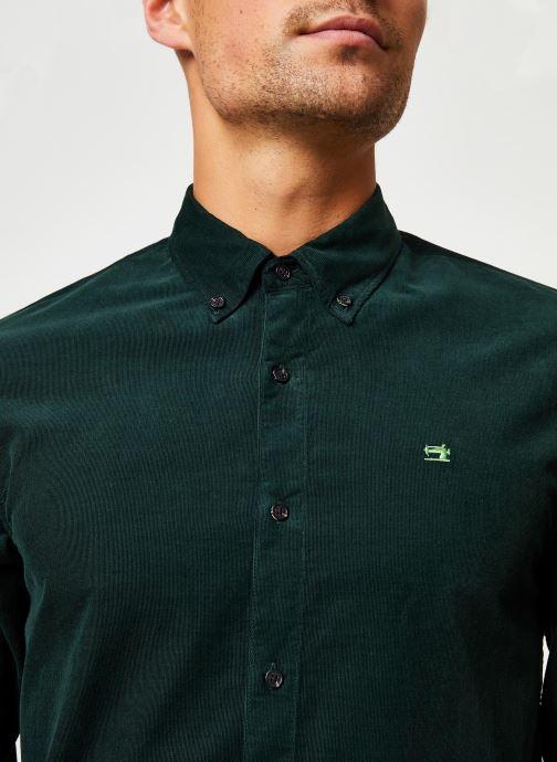 Vêtements Scotch & Soda REGULAR FIT - Clean Chic corduroy shirt Vert vue face