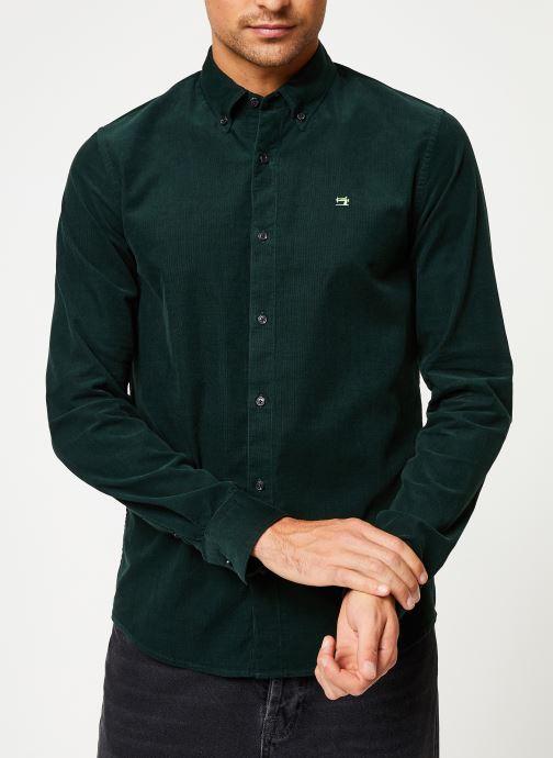 Vêtements Scotch & Soda REGULAR FIT - Clean Chic corduroy shirt Vert vue droite