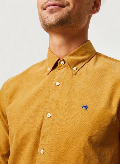 Vêtements Scotch & Soda REGULAR FIT - Clean Chic corduroy shirt Jaune vue face
