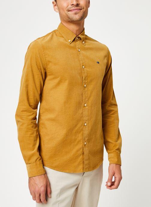 Vêtements Scotch & Soda REGULAR FIT - Clean Chic corduroy shirt Jaune vue droite