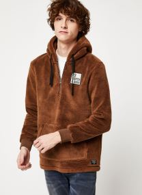 Vêtements Accessoires Half-zip hoody in teddy quality