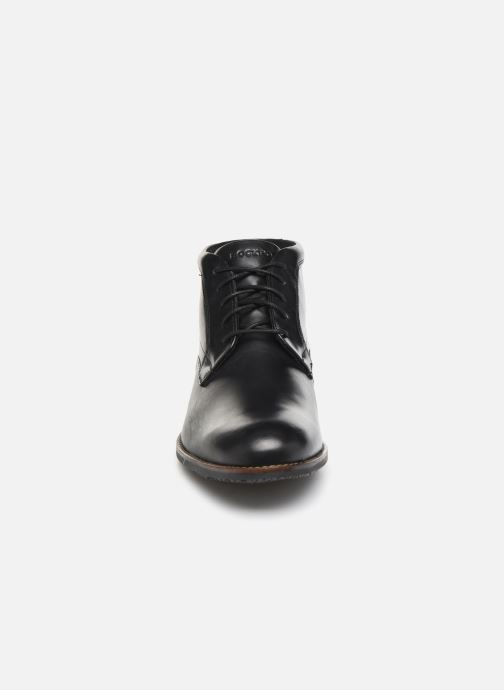 Ankle boots Rockport Dustyn Chukka C Black model view
