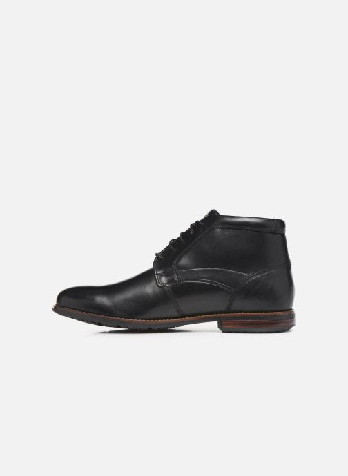 Ankle boots Rockport Dustyn Chukka C Black front view