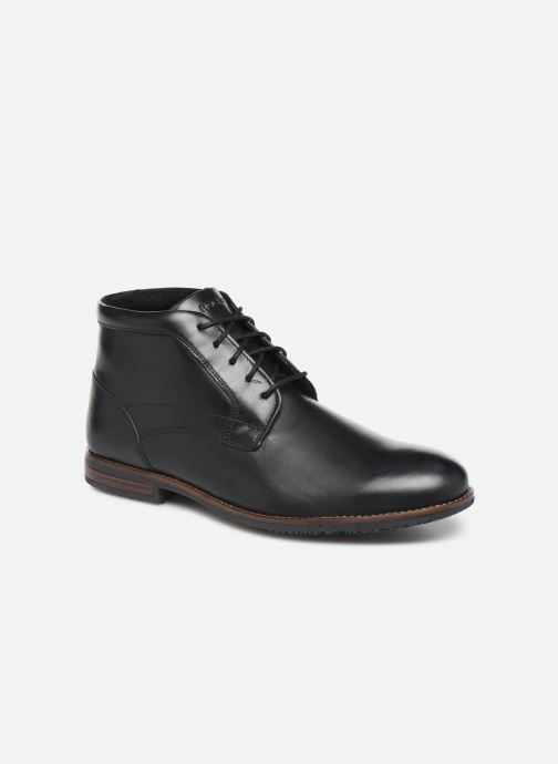 Ankle boots Rockport Dustyn Chukka C Black detailed view/ Pair view