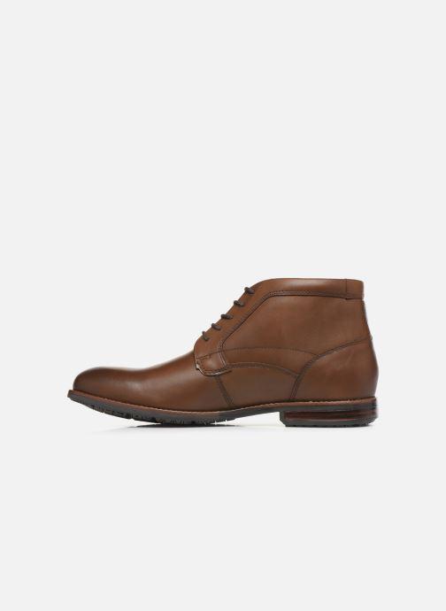 Bottines et boots Rockport Dustyn Chukka C Marron vue face