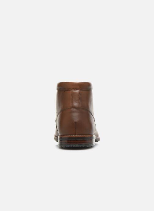 Bottines et boots Rockport Dustyn Chukka C Marron vue droite