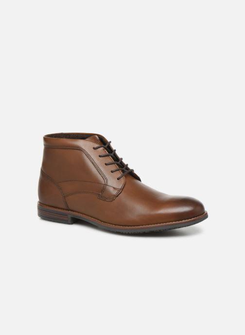 Bottines et boots Rockport Dustyn Chukka C Marron vue détail/paire