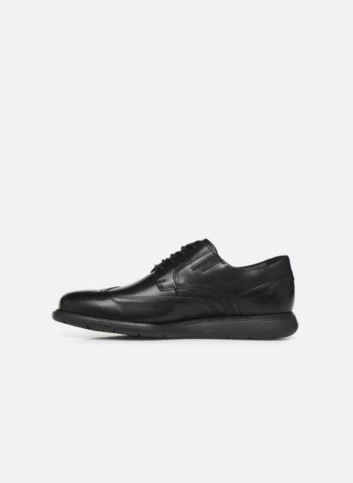 Lace-up shoes Rockport Tmsd Wingtip C Black front view