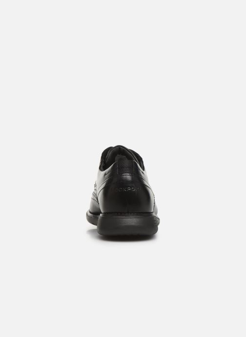 Lace-up shoes Rockport Tmsd Wingtip C Black view from the right