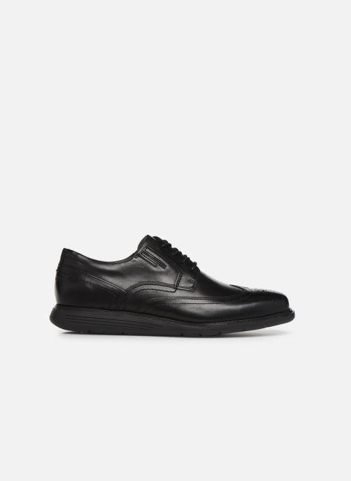 Lace-up shoes Rockport Tmsd Wingtip C Black back view