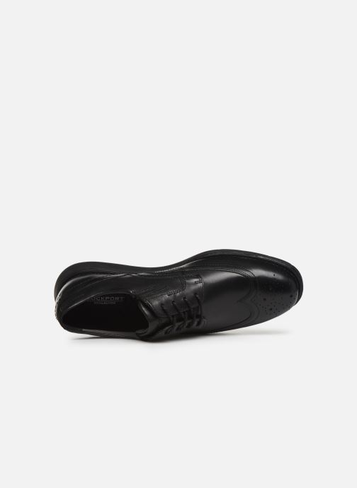 Lace-up shoes Rockport Tmsd Wingtip C Black view from the left