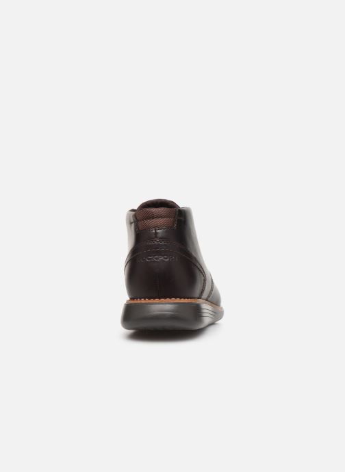 Ankle boots Rockport Tmsd Chukka C Brown view from the right