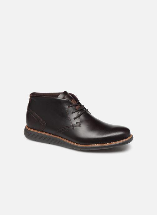 Bottines et boots Rockport Tmsd Chukka C Marron vue détail/paire