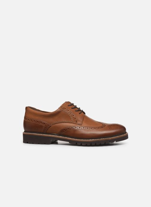 Chaussures à lacets Rockport Marshall Wingtip C Marron vue derrière