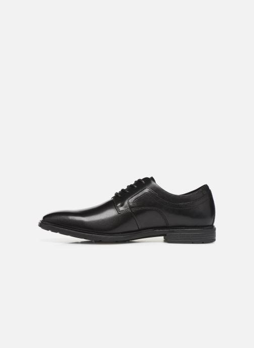 Lace-up shoes Rockport DS Business 2 PT C Black front view