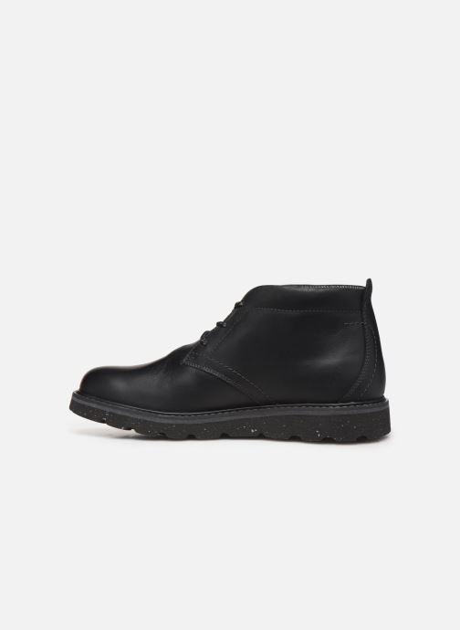 Bottines et boots Rockport Storm Front Chukka WP C Noir vue face