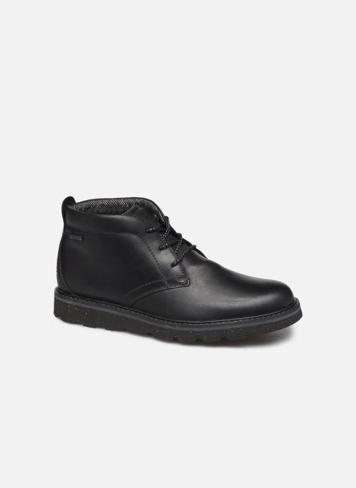 Bottines et boots Rockport Storm Front Chukka WP C Noir vue détail/paire