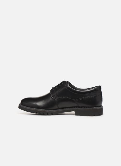 Chaussures à lacets Rockport Marshall PT Oxford C Noir vue face