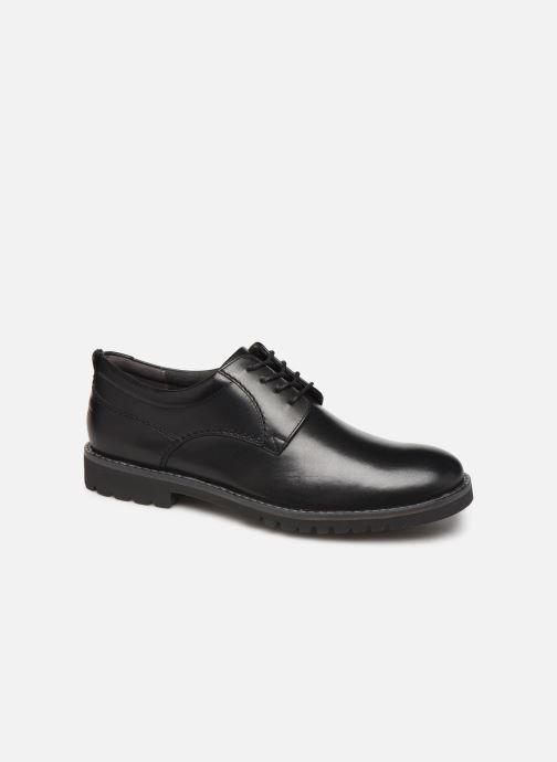 Chaussures à lacets Rockport Marshall PT Oxford C Noir vue détail/paire