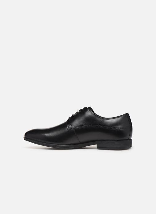Chaussures à lacets Rockport SC WP Plain Toe C Noir vue face